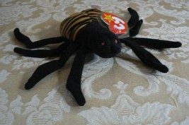 "Rare TY Original Beanie Babies "" Spinner "" The Spide Errors- #4183-Retired-Error image 1"