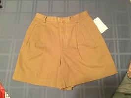 New - ladies - Size 8-Liz Claiborne shorts-Liz sport-casual khaki - $10.95