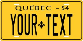 Quebec Canada 1954 Personalized Customs Novelty Tag Vehicle Car Auto Lic... - $16.75