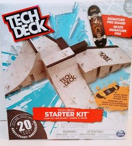 Tech Deck Starter Kit Ramp Set with Cool Board and Trainer Clips - $33.17