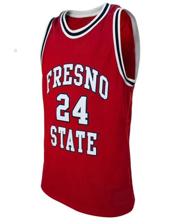 Paul george college basketball jersey red   1