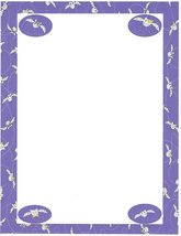 Halloween Going Batty Stationery Printer Paper 26 Sheets - $9.89