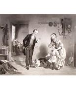 The New Scholar Steel Engraving Ornaments of Memory 1854 FW Edmonds Alfr... - $16.00