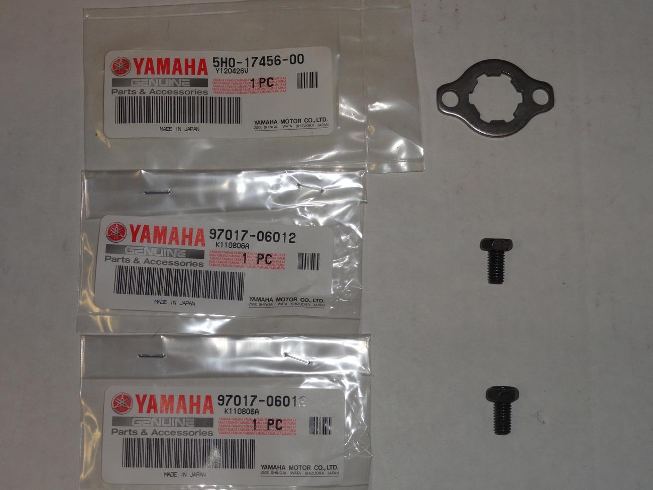 Front Sprocket Holder Lock Bolts Washer OEM LTZ400 KFX400 LTZ KFX 400 LT Z400