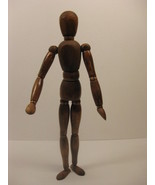 12 Inch Vintage Wood Jointed Artist Model Painting Sculpture Mannequin D... - $339.00