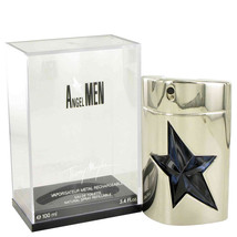 Angel By Thierry Mugler For Men 3.4 oz EDT Spray Refillable (Metal) - $42.21