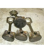 2000 Mitsubishi Eclipse 2.4L AT Set Of Pistons N Rods - $121.65