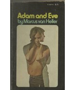 ORIGINAL Vintage 1971 Adam and Eve 1st Ed Paperback Book GGA Marcus Van ... - $49.49