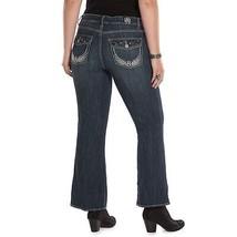 Rock & Republic® Kasandra Embellished Bootcut Jeans - Women's Plus Size 24W - $32.68