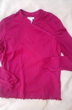 ASIAN STYLE TOP LONG SLEEVES JUNIORS SIZE LARGE... - $2.99