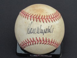 Don Drysdale 3 X Wsc Cy Dodgers Hof Signed Auto Game Used Vintage Baseball Jsa - $217.79