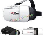 3D VR Box Virtual Reality Glasses Cardboard Movie Game for Samsung IOS iPhone