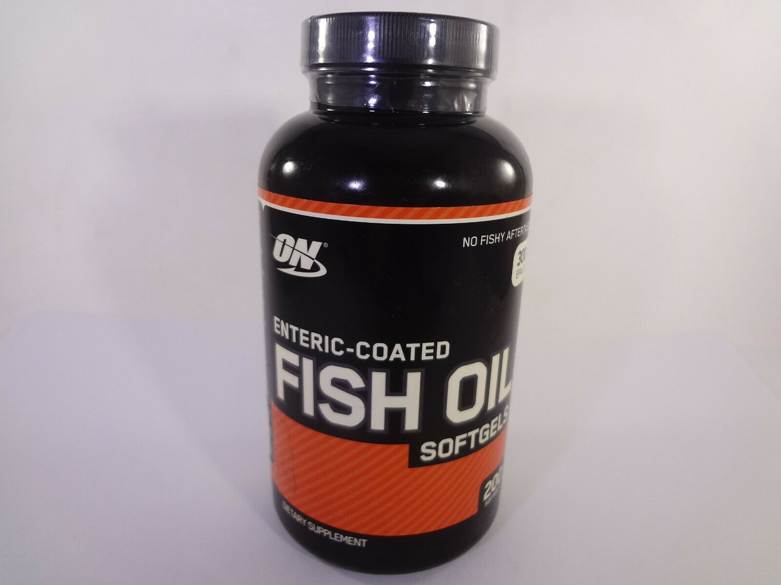 Optimum Nutrition Enteric-Coated Fish Oil Softgels 200 Softgels {VS-O} - $22.44