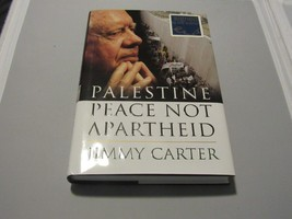 JIMMY CARTER 39TH PRESIDENT OF US SIGNED AUTO PALESTINE PEACE NOT APARTH... - $118.79