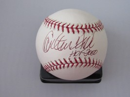 CARLTON FISK HOF 2000 RED SOX WHITE SOX HOF CATCHER SIGNED AUTO BASEBALL... - $98.99
