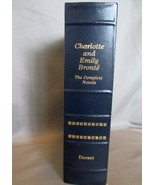 Charlotte and Emile Bronte: The Complete Novels Like New Leather Bound - $13.49