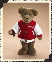 "Boyds Bears ""Collin"" 12"" Coca Cola®  Plush Bear-919915 - NWT- 2006 - $39.99"