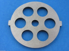 "Meat Grinder plate disc die for electric Waring Pro & Oster w/ 1/2"" Cour... - $13.61"