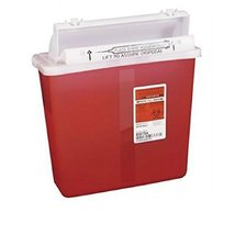 PT 8507SA Container Sharpstar InRoom Mailbox Lid Red 5qt Ea by 35619168 - $17.67