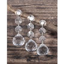 12 strands Acrylic Crystal Bead Hanging Strand For Wedding Manzanita Centerpiece - $9.04