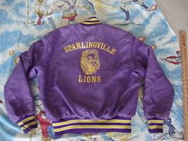 Vintage Sparlingville Lions DICK punk rock heavy metal Jacket Mens size L - $25.73