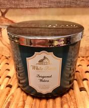 Bath & Body Works Bergamot Waters 3 Wick Candle - $21.78
