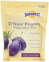 Snack Food Fruit Sunsweet DNoir Prunes Pack of ... - $23.33