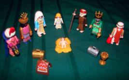 Playmobil Christmas Nativity figures  - $25.00