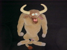 "21"" Yak Bull Plush Toy From Nickelodeon Ren & Stimpy 1997 Viacom - $140.24"