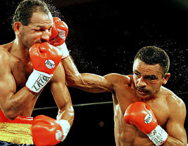 Wilfredo Vazquez 8 X10 Photo Boxing Picture Ring Action - $3.95