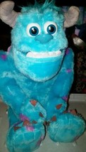 MONSTER INK UNIVERSITY SULLEY TALKING STUFFED ANIMAL. DISNEY/PIXAR funny... - $6.79