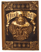 Dark Magic Book Animated Halloween Prop Sounds Haunted House Decoration - €26,45 EUR