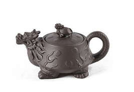 Yixing Tea Pot Clay Purple Grit Mud Purple Sand Dragon - $23.33