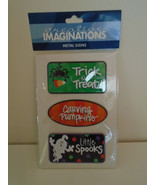 Metal signs Halloween Creative Imaginations scrapbooking - $6.00