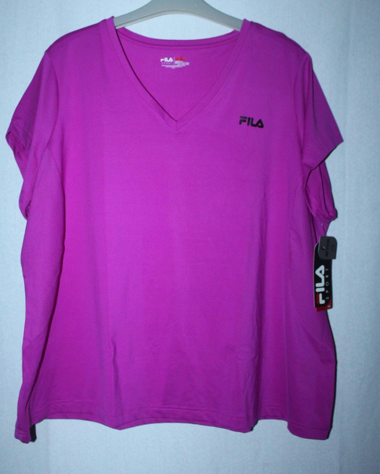 12163b839698 New Womens Plus Size 3 X Purple Fila Sport and 22 similar items