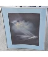 Beautiful Artwork Print - Grepp - Framed & Matted - Larger- SERENE SETTI... - $44.54