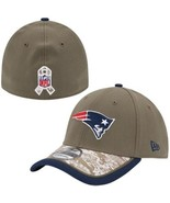 NEW ENGLAND PATRIOTS SALUTE TO SERVICE SIDELINE HAT NEW ERA SMALL / MEDIUM - $39.99