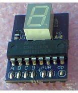 BCD to 7 Segment Display Driver KIT X 5 pack  -... - $11.92