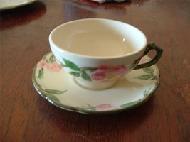 2 Cup & Saucers  Franciscan Desert Rose Near Mint Conditions - $9.95