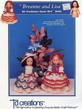 Breanne and Lisa Air Freshener Cover Doll Outfits PATTERN/INSTRUCTIONS - $4.47