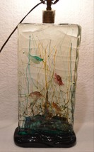Large Vintage Murano Art Glass Fish Aquarium La... - $2,398.68