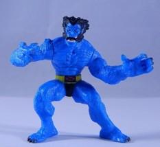 """ToyBiz Marvel Heroes Miniature Poseable BEAST 2"""" Action Figure 2005 - $7.83"""