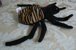 "Rare TY Original Beanie Babies "" Spinner "" The Spide Errors- #4183-Retired-Error image 5"