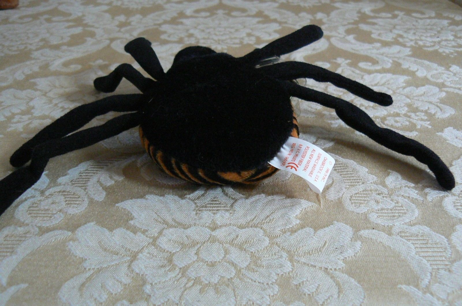 "Rare TY Original Beanie Babies "" Spinner "" The Spide Errors- #4183-Retired-Error image 6"