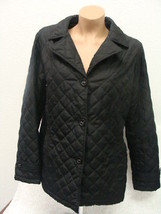 WOMENS LADIES WEATHER TAMER JACKET SIZE M BLACK L@@K! - $22.72