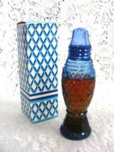 Avon Crystalpoint Salt Shaker Decanter Cotillion Cologne 1.5 oz. - $9.82
