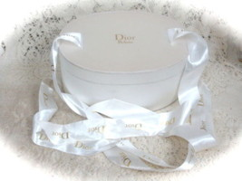 White Ivory Designer Parfum Cosmetic Makeup Container Box - $15.14