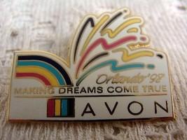 "Avon Making Dreams Come True Orlando ""98"" Pin Brooch - $4.49"