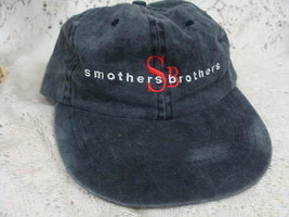 Smothers Brothers Black Grey  Hat with Dick Smother Signature - $15.14