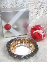 Avon Hudson Manor Collection  Silverplated Dish w/ Ariane Satin Sachet - $19.95